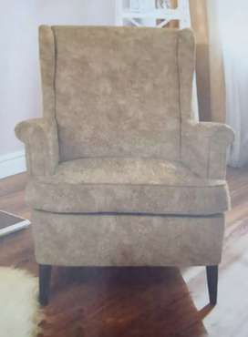 Brand New Mouse Color Wing Chair Available in Affordable Price