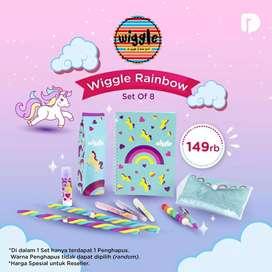 Wiggle rainbow set