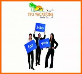 TFG VACATIONS INDIA PVT.LTD k from home and earn minimum 12k