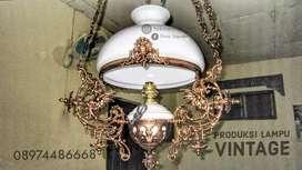 Lampu Kerek OVJ - Lampu Katrol Kuno
