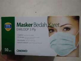 Masker mulut 3 ply earloop