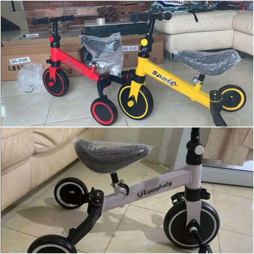 Sepeda Roda 3 keseimbangan anak 0