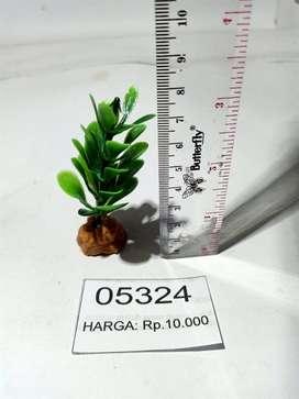Fake Plant untuk mempercantik kandang tarantula/serangga/hewan lain