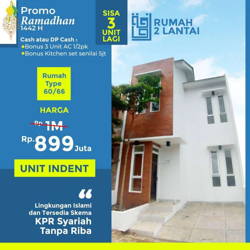 Cluster Premium Raudhoh Residence - UNIT READY