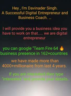 NOTE- IT'S A BUSINESS OPPORTUNITY