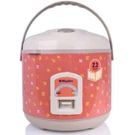Miyako Magic Com / Rice Cooker 2.2L 3in1 - MCM-838 Pink Salem