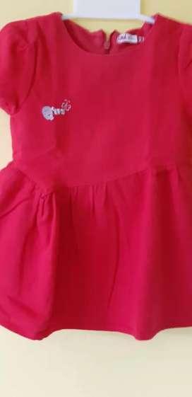 Baju anak anak merk QNA umur 2 tahun