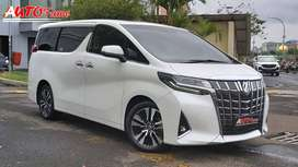KM 18.000 Toyota New Alphard Facelift G ATPM 2018 Akhir White On Beige