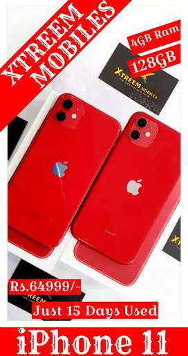 iPhone 11..Red Edition.. Just 15 Days Used..