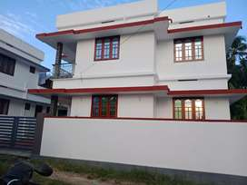 3 bhk 1300 sqft 4 cent new build  at paravur thathapally  road 100 mtr