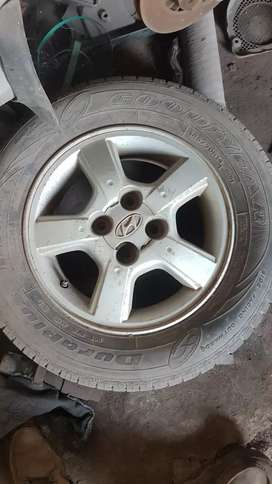 """Original Accent 14"""" alloy wheels"""
