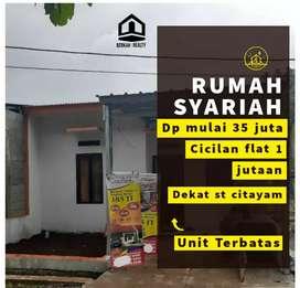 4 unit lagi rumah minimalis dekat stasiun Citayam syarat hanya KTP KK