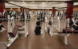 newly commercial gym setup lagaye with