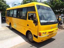 school bus eicher