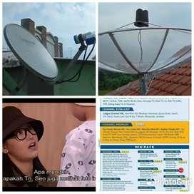 Teknisi pasang parabola mini gratis cctv parabola besar area sanggar