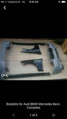 Bodykits for Audi BMW Mercedes Benz Range rover