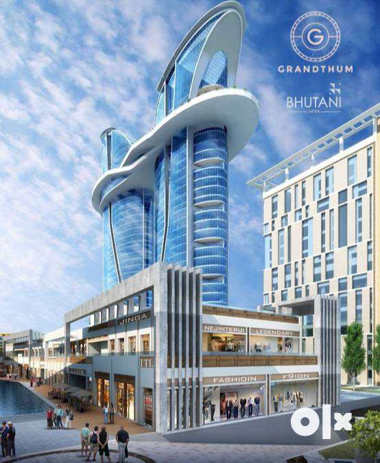 Bhutani Grandthum At ₹ 56.97 Lacs Onwards*-)$Commercial Space for Sale 0