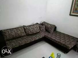 L shape sofa in very good condition