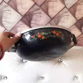 Nonstick wok used