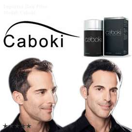 Caboki Hair Fiber for HairDesire meets a new Style
