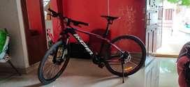 Kross impel hi-end shimano 21 gear mtb bike. Mountain cycle.