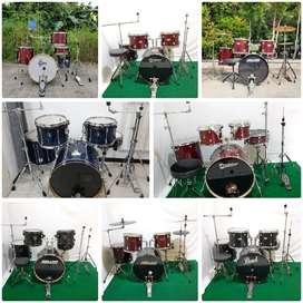 Ready 8 set drum siap pakai