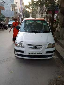 Urgent sale santro xing CNG Fitted