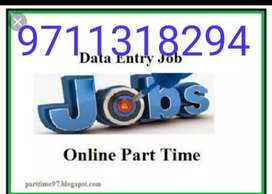 Part time home based job at home