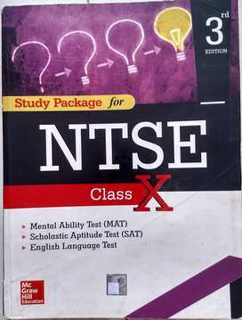 NTSE.  Book  for  class. x  Mc Graw  Hill education