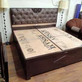 Solid wood King size boxbed for immediate sale.