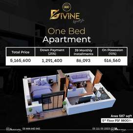1 Bed Appartment, Divine Lifestyle,  Bahria Business District phase 8