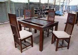 Meja makan kursi 04