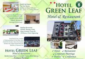 Required several Staff in Hotel Green Leaf Jwalapur Haridwar