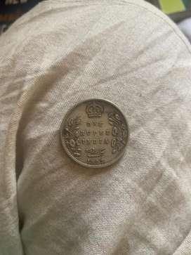 Original one rupee coin of 1903