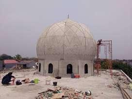 Detail dan Berpengalaman Kontraktor GRC Proyek Pembuatan Kubah Masjid