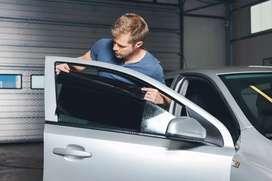 Melayani panggilan pasang kaca film mobil dan gedung