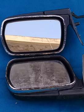 Crown side mirrors