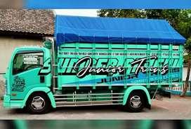 Melayani angkut dan kirim barang  sedia Truck cdd Fuso dan Tronton