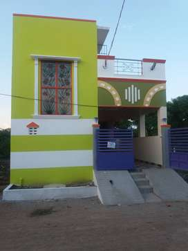 south facing - 2 bhk independent house available for sale in kovur
