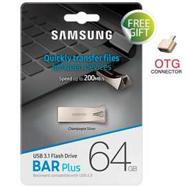 Samsung 64 GB Brand New USB For Sale with 3 months warranty