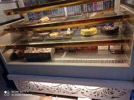 Bakery fridge counter