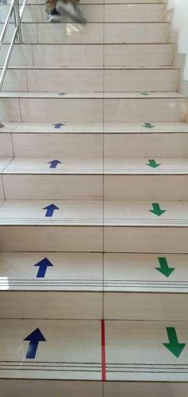 sticker anak tangga stiker lantai dinding wallsticker murah bagus awet