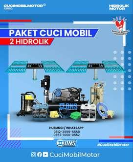 Paket Usaha Cuci Mobil Hidrolik 2 unit DNS, Paling Hemat dan MURAH Gan