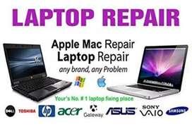 All type of Computers, All in one & Laptops, Macbook repair