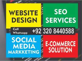 Complete business website design & development for any business