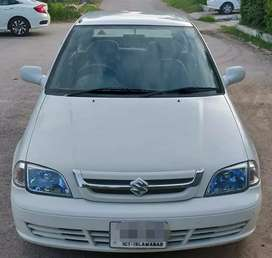 Suzuki Cultus on easy monthly installment