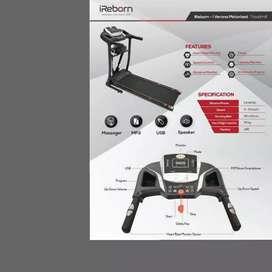 treadmill elektrik i reborn verona M-571 electric treadmil alat fitnes