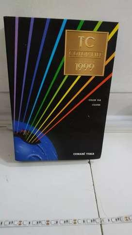 Cemani Toka color guide/ TC color profile edisi 1999. Mulus rapi