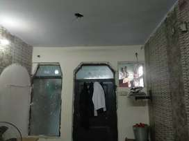 Available semi furnished one room with kitchen