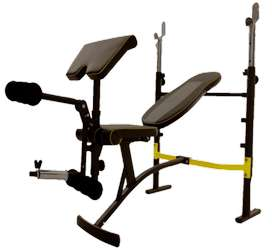 Cardio World Multi Bench for multiple usage